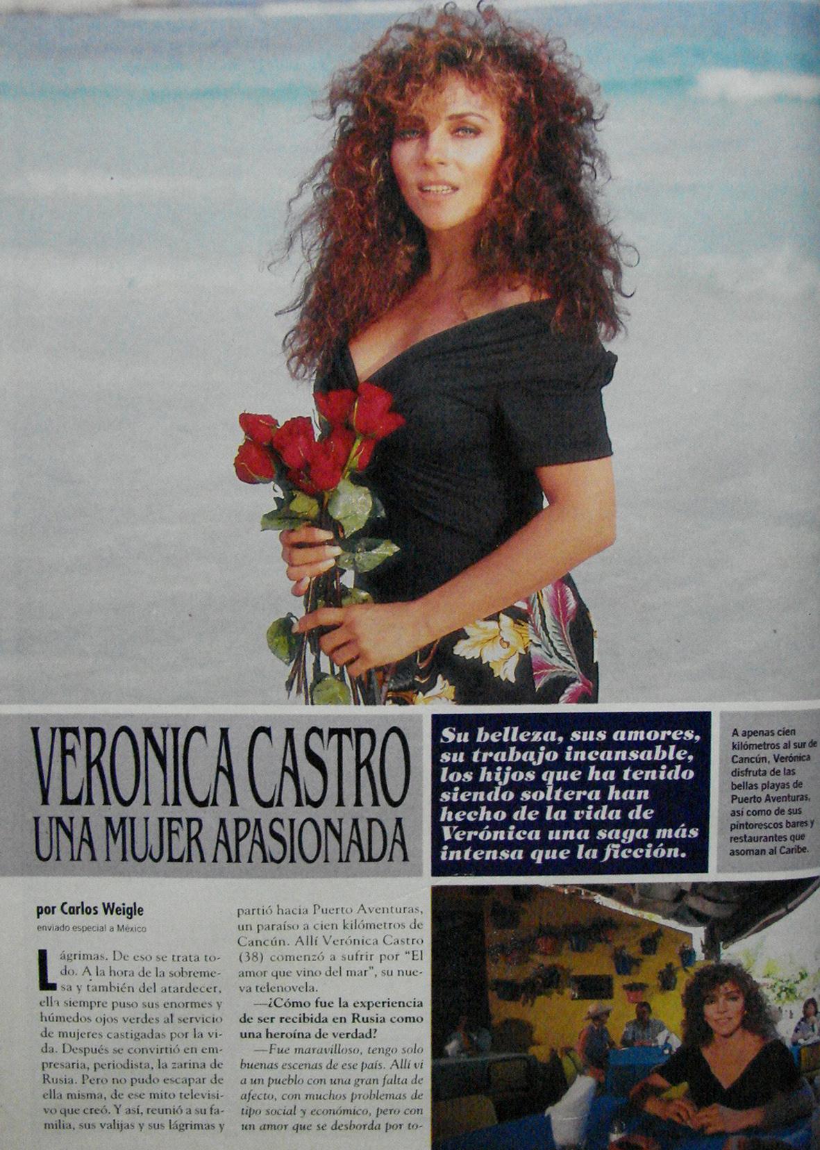 Вероника кастро фото билан